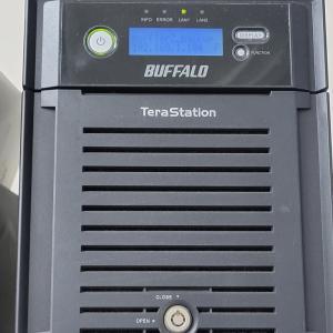 【NAS】BuffaloのNAS(TS-QVHL)をSMB2対応に変更する(2)