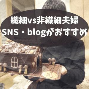 【HSP・非HSP夫婦】共感を求めるHSP×対応できない非HSP=ブログ・SNSがいい