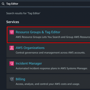 [AWS] How to check resource existence
