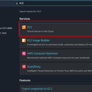 [AWS] Set up EC2 Instance
