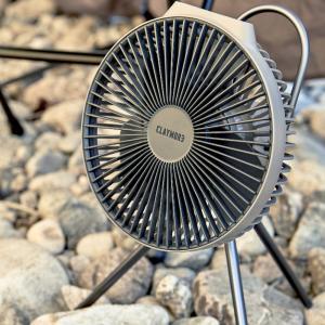 夏キャンプの暑さはクレイモアファンV600+で乗り切ろう!限定モデルもあるよ