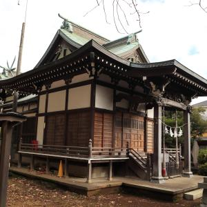 下田神社(神奈川県横浜市港北区)