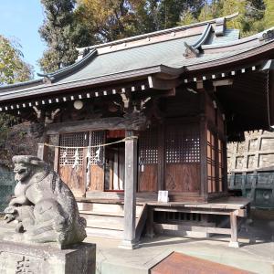 箕輪諏訪神社(神奈川県横浜市港北区)