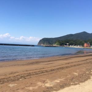 【海水がキレイ】土肥海水浴場は水質もキレイでおすすめです。