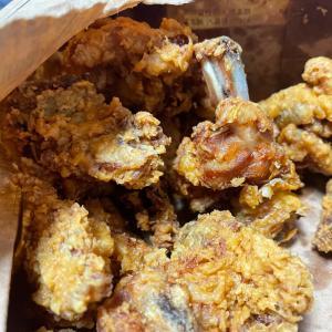 出前王国、韓国のチキン노랑통닭は美味しい