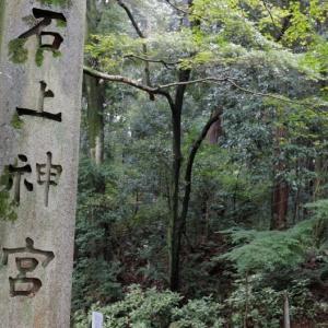 石上神宮(奈良県)と鶏と七支刀のお守りと御朱印