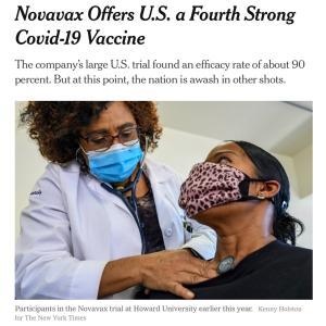 90%コロナに効くワクチンができたそうです。