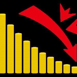 【株式投資】暴落時の心構えについて