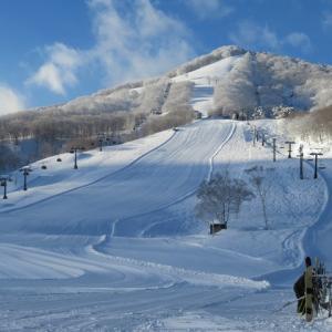 斑尾高原スキー場(長野県飯山市)