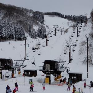 大倉岳高原スキー場(石川県小松市)