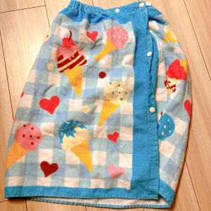 夏準備☆ラップタオルを買いました