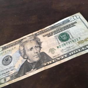 $20貰った♪