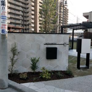 愛知県一宮市にて新築外構工事もうすぐ完成です。