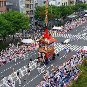 祇園祭り巡行