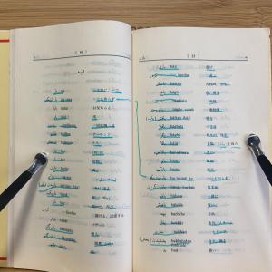 ペルシア語の語彙強化期間に入りました。【ペルシア語の単語帳】