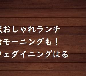 稲沢おしゃれランチ・和食モーニングもある【カフェダイニングはる】