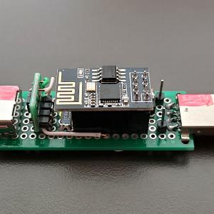 ESP8266 ESP-01SにリレーとINA219で作るスマートUSBスイッチの試作