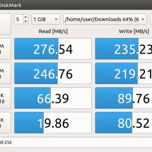 CrystalDiskMark 代替の KDiskMark(Linux) と AmorphousDiskMark(macOS)