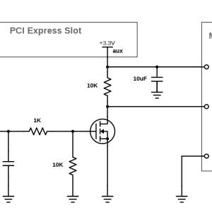 MOSFETによるGPIO入力の保護