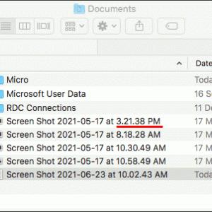 macOSのスクリーンショット機能を便利にする
