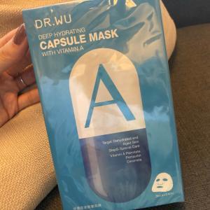 カサカサのお肌にDR.WUのマスク