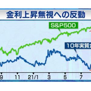 【今回の株価急落の原因は恒大ではなく金利?】ホリコキャピタル 堀古さんの意見を紹介(9/22モーサテより)