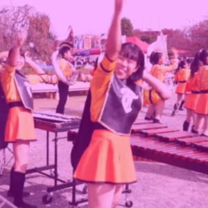 京都橘高校吹奏楽部 116期「伏見お城まつりパーカッション視点」
