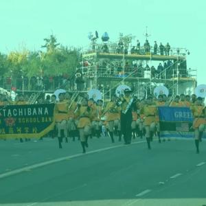 京都橘高校吹奏楽部 114期「ローズパレード最高の盛り上がり!FireBall」