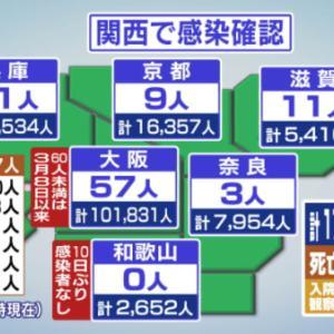 新型コロナウィルス 京都 14/6 & 保津峡駅