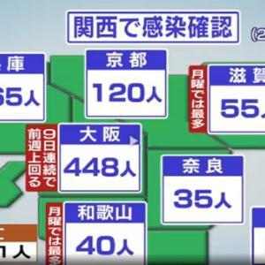 新型コロナウィルス 関西 08-02    /    祇園祭 もの売りのわらべ歌