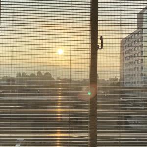 病院の朝は早いのだ。