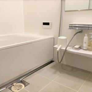お風呂のモノを少なくシンプルに