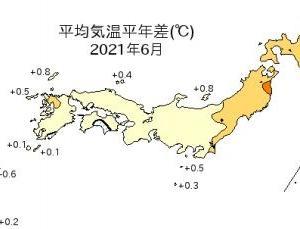 インフラファンド・2021年6月太陽光発電所月次発電電力量実績