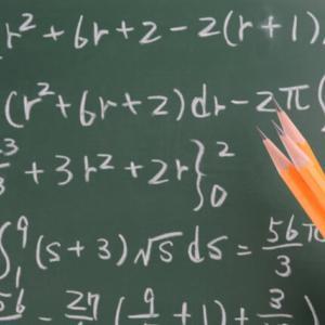 数学の先取り学習、苦戦しています・・・