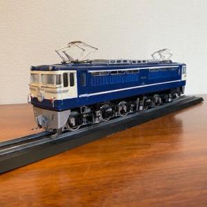 【なつかしい車両】鉄道プラモデル 電気機関車EF65