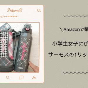 [Amazon購入品]サーモスの1リットル水筒が小学生女子にぴったり