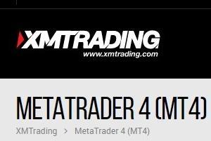 XM 取引ツール MT4