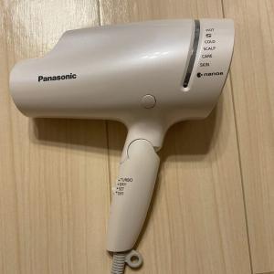 Panasonic ナノケアドライヤー EH-NA9E 使用レビュー【口コミ】
