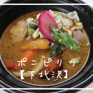 【ひとり下北沢カレーフェス2021】下北沢カレー紹介第2弾!スープカレー専門店「ポ二ピリカ」