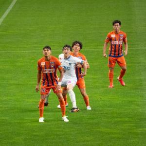 【アルビレックス新潟】サッカーの写真を撮る!