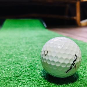 おうちでゴルフの練習!