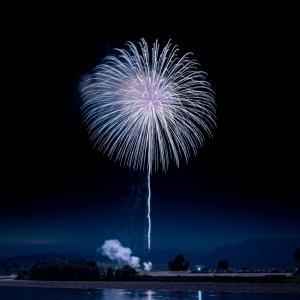 昨日はお友達家族と花火を見てきた!