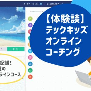 【体験談】テックキッズオンラインの小学生口コミ。申込から料金、メリットまで