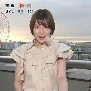 【画像】お天気キャスター阿部華也子ノースリーブがかわいい