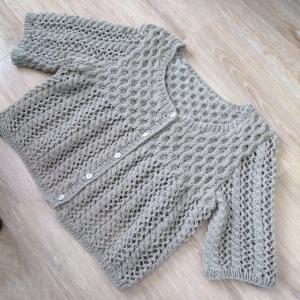 カーディガン編み上がり!