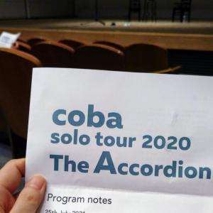 2021年7月25日・coba solo toue 2020/しずぎんホールユーフォニアにて至福の時♪