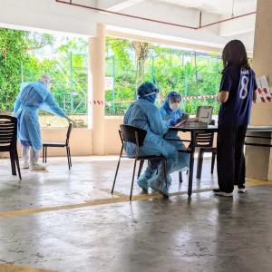 マレーシアでの隔離生活 12日目 - PCR検査