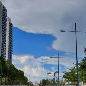奇麗な雲☁