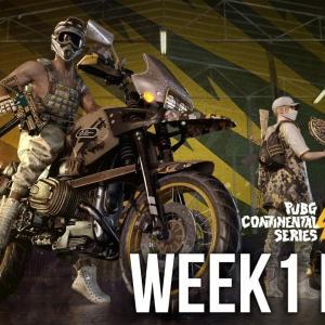 PCS4 ASIA WEEK1 DAY1 | PUBG Continental Series