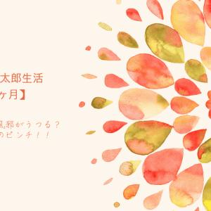 一姫二太郎生活【1ヶ月】新生児にも風邪がうつる?一家崩壊のピンチ!!